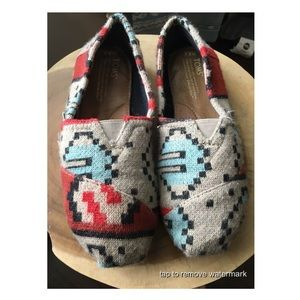 TOMS Aztec Shoes